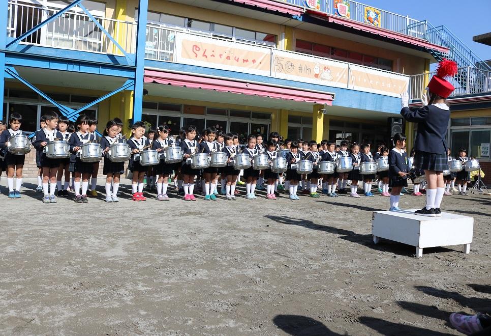 幼稚園 鼓笛隊